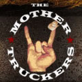The Mother Truckers Logo: The long-horn salute with a cowboy hat perched on the index finger
